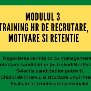 Scoala Practica HCC Curs HR