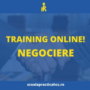 training de negociere online